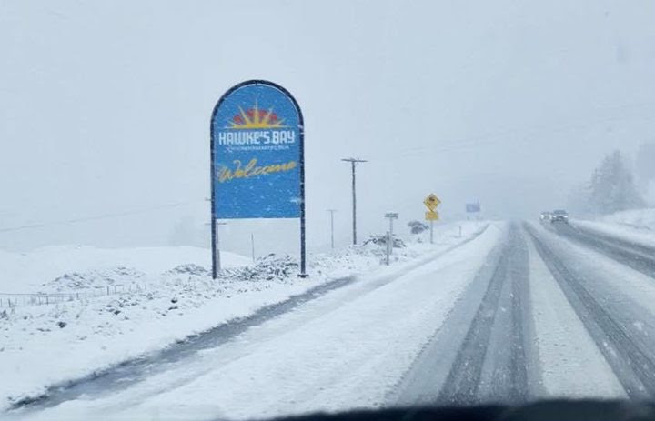 Napier taupo road