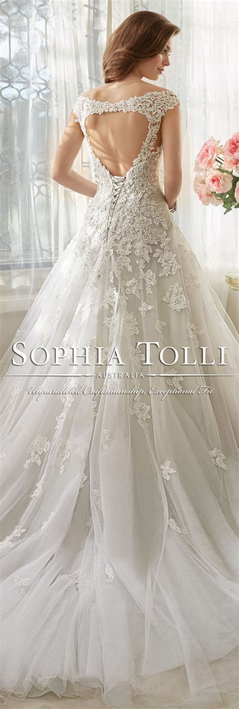 Sophia Tolli Wedding Dresses 2018 for Mon Cheri   Wedding