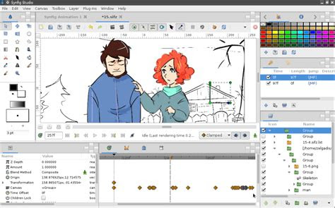 synfig   open source animation software