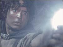Elijah Wood í hlutverki Frodo í LOTR: Return of the King