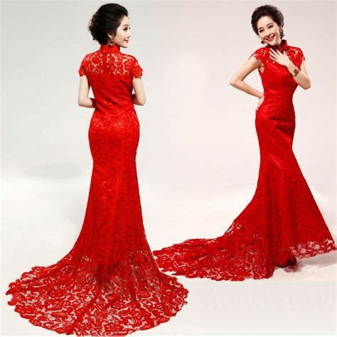 chinese wedding dress for women is usually a one piece