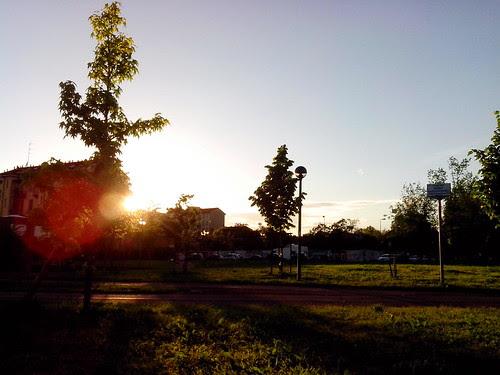 Limpido tramonto dal Parco della Torre by Ylbert Durishti