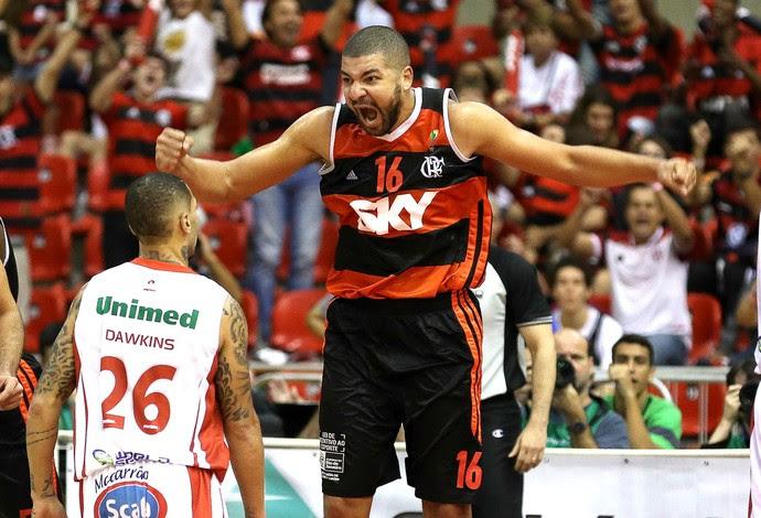 Olivinha Flamengo x Paulistano final NBB basquete (Foto: Luiz Pires / LNB)