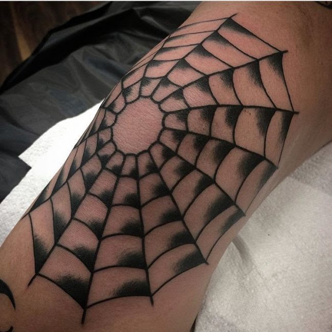 105 Innovative Spider Web Tattoo Ideas Highly Cultivated Totems