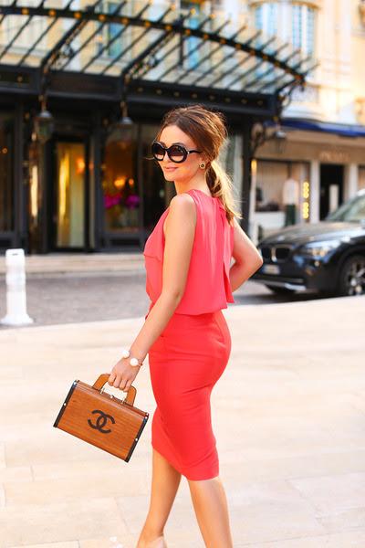 Chanel bag - Chanel sunglasses - Zara skirt - Zara top