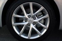 2011 Lexus IS 250 AWD wheel