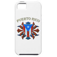 Puerto Rico - Shield iPhone 5 Case