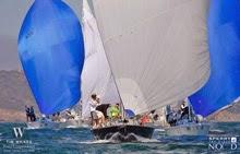 J/105 fleet sailing San Diego NOOD regatta