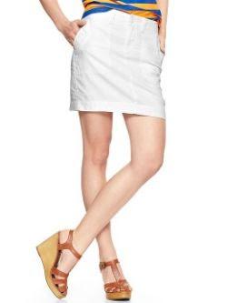 Gap Linen Utility Skirt