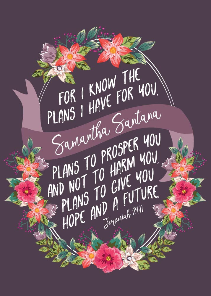 For I Know The Plans I Have For You Jeremiah 2911 Seeds Of Faith