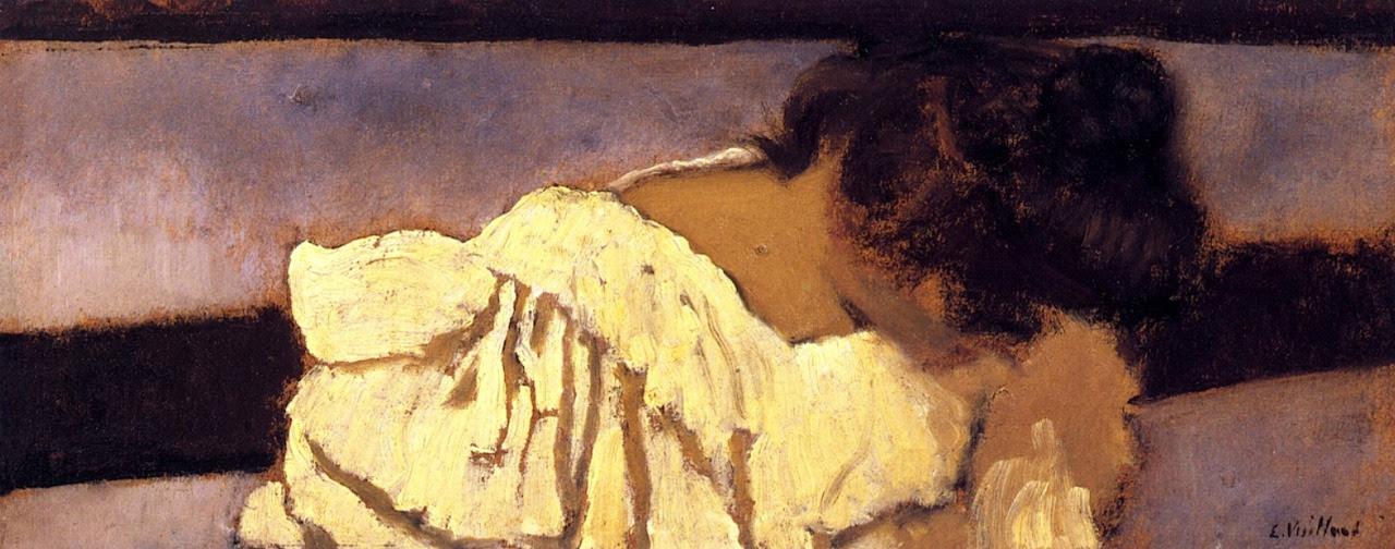 The Nape of Misia's Neck Edouard Vuillard - 1897-1899