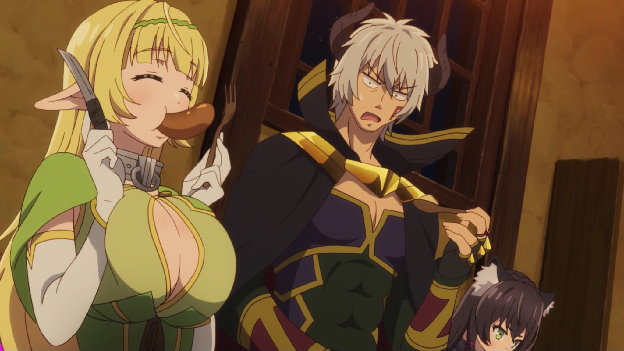 Anime Review Summoning Action Wackiness Via A Shut In Demon