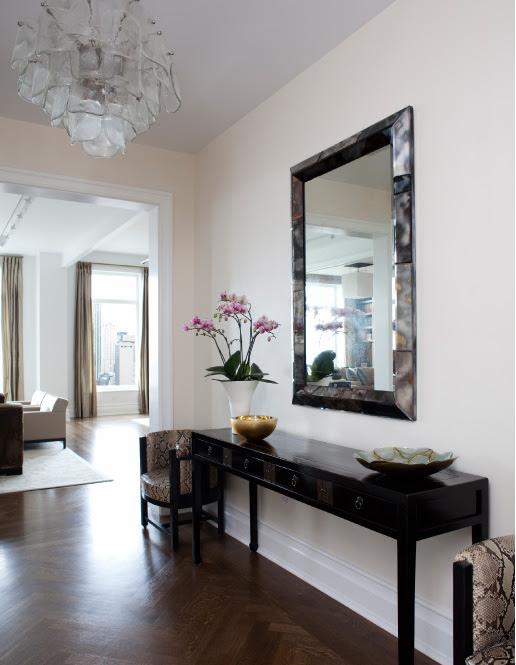 CHerringbone Wood Floors - Contemporary - entrance/foyer - MR ...