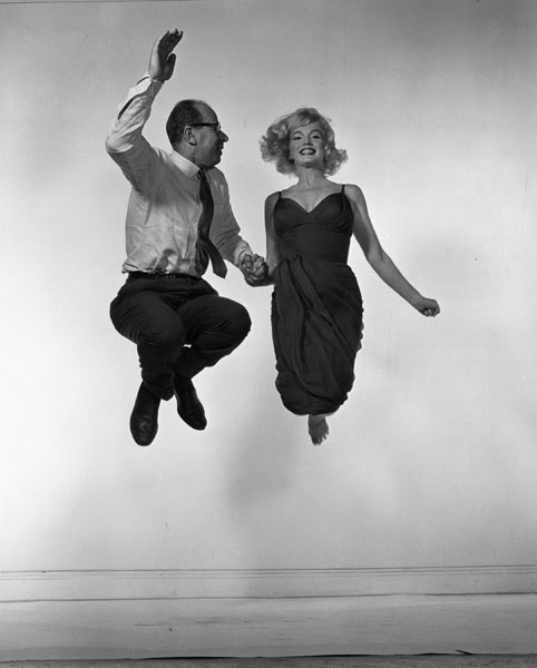 halsman Monroe Halsman jump Les sauts de Philippe Halsman  photo photographie featured art