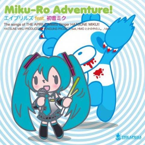 Resultado de imagen para The APRILS feat. Hatsune Miku - Miku-Ro Adventure!