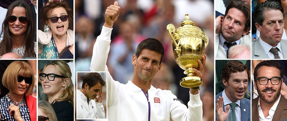 Novak Djokovic beats Roger Federer in dramatic Wimbledon 2015 Final