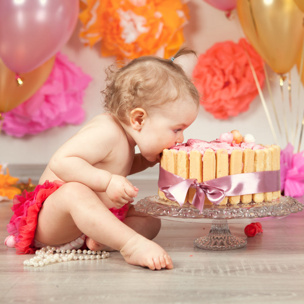 Baby Girls First Birthday Photo Ideas Bloomers And Bows