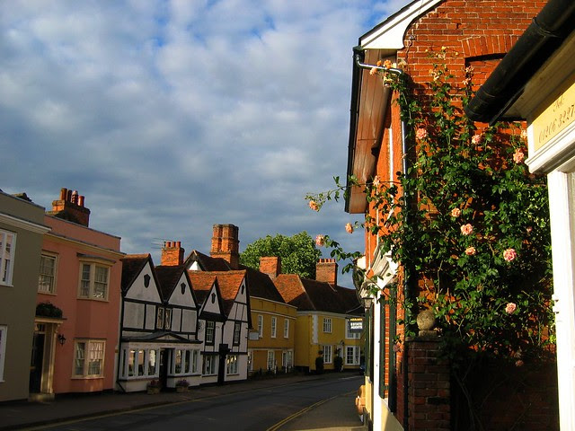 Early one morning in Dedham, Essex, England