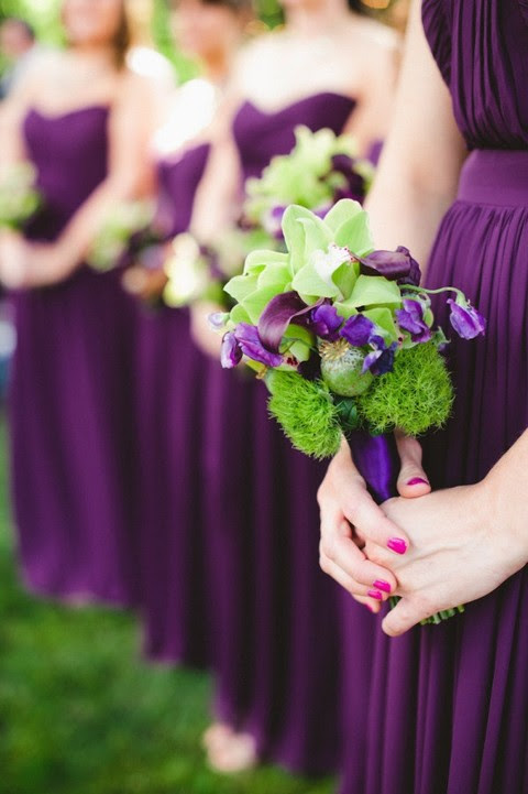 50 Dark Purple Wedding Ideas To Rock Happyweddcom