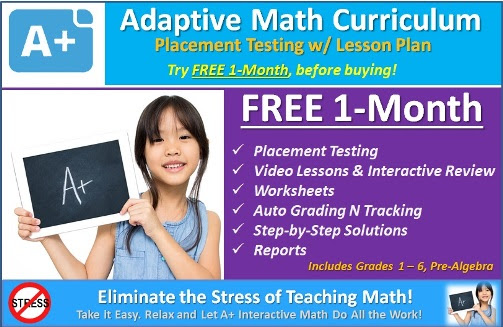 Adaptive Math, Homeschool Math, Math Curriculum Online, Homeschool Math Courses, Homeschool Family Math, Math Learning Gaps, Math Video Lessons, Math Worksheets, Math Lessons, FREE Math Courses, Homeschool Math Online, Math Mini Courses