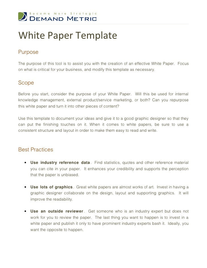 white paper template 1 728