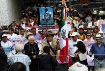 Messico - Zocalo Df Conclusione Marcia Nazionale per la pace