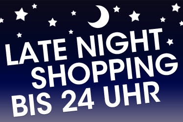 Late Night Shopping!
