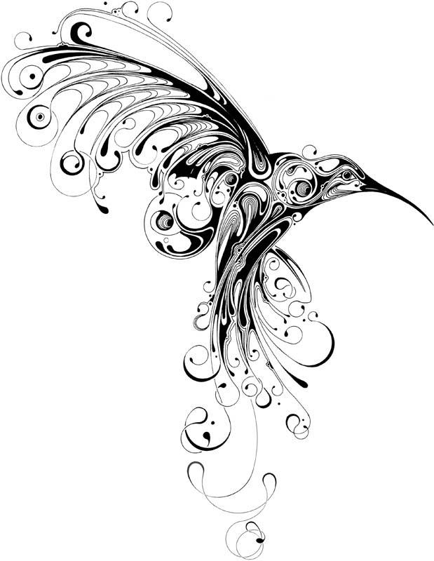 Hummingbird Tattoo. Ta-da! My new tattoo is almost healed.