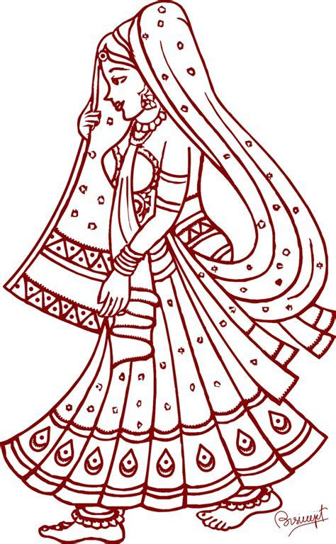 Gallery clipart indian marriage   Pencil and in color