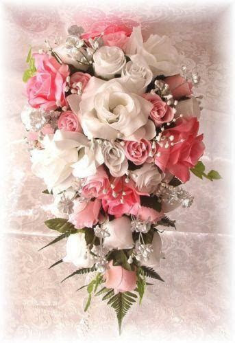 Pink Wedding Bouquet   eBay