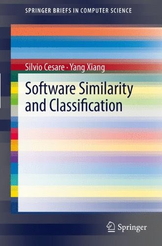 [PDF] Software Similarity and Classification Free Download