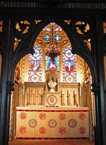 St Birinus Lenten Array