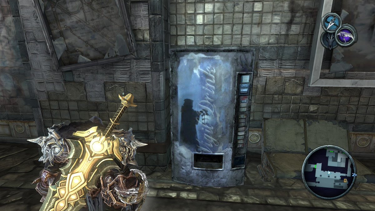 The Video Game Soda Machine Project has over 1,200 screens of soda machines from games screenshot