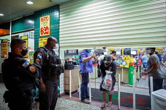 Río de Janeiro y Sao Paulo endurecen restricciones
