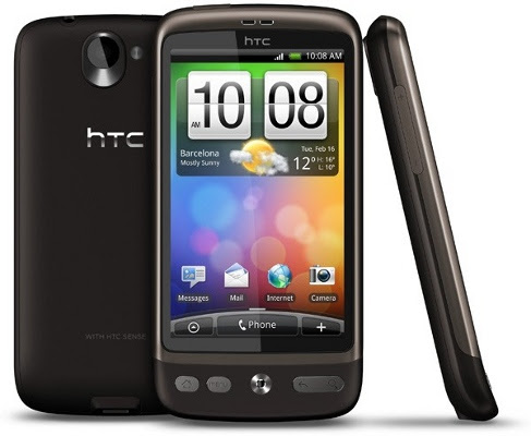 htc desire 10 Best Android Cell Phones in 2011