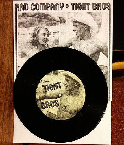 "Rad Company / Tight Bros - Split 7"" by Tim PopKid"