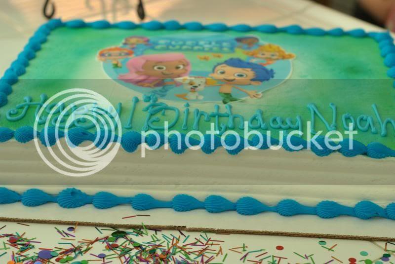 Noahs First Birthday
