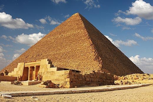 Begini Firaun Membangun Piramida....