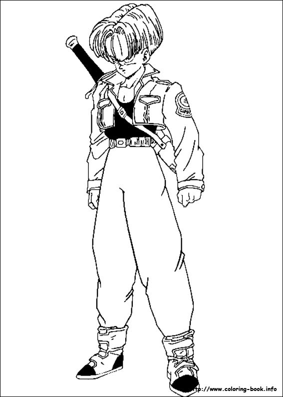 990 Dragon Ball Z Coloring Pages Gohan For Free