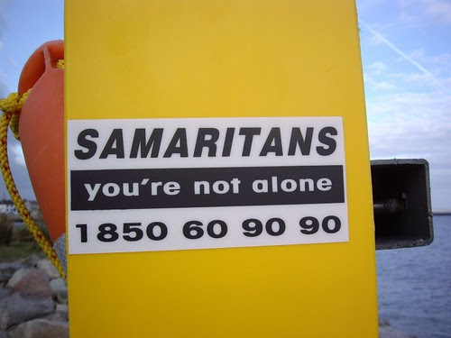 Samaritans, you are not alone