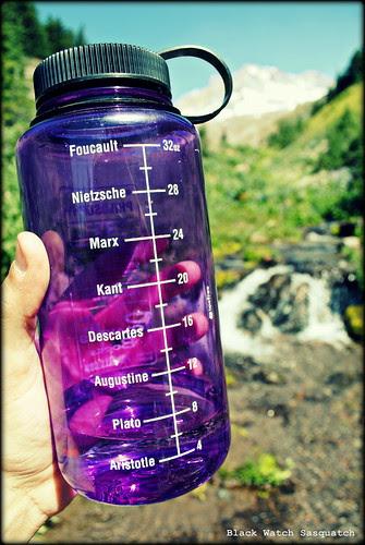 Powell's Book Nalgene Bottle at Paradise Park - Mt. Hood