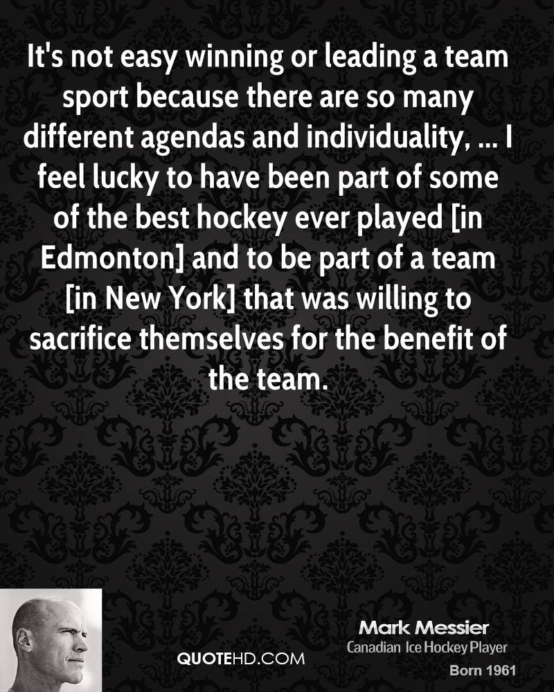Mark Messier Quotes Quotehd