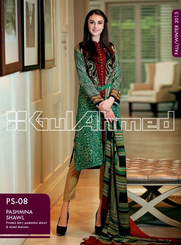 Beautiful-Cute-Girls-New-Fashionable-Dress-Design-by-Gul-Ahmed-Fall-Winter-Collection-2013-14-17