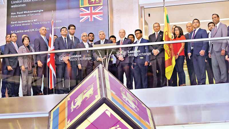 PM OPENS TRADING AT LONDON STOCK EXCHANGE