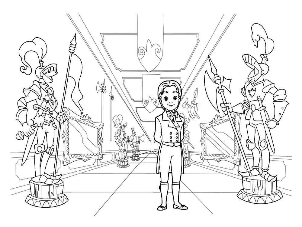 Imprimir Imágenes Dibujos Para Colorear La Princesa Sofía Para