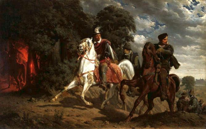 https://upload.wikimedia.org/wikipedia/commons/0/03/Grottger_Escape_of_Henry_of_Valois.jpg