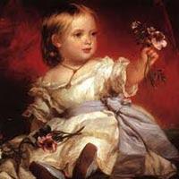 La pequeña que sería la reina Victoria