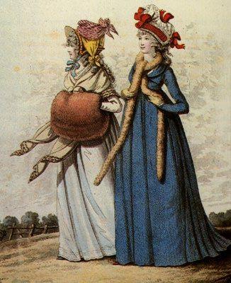 Two fashionable Regency Ladies