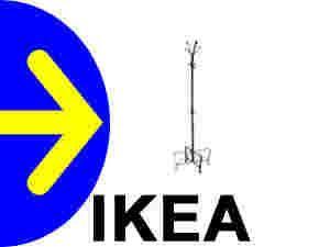 Wieszak Na Ubrania Ikea Czarny
