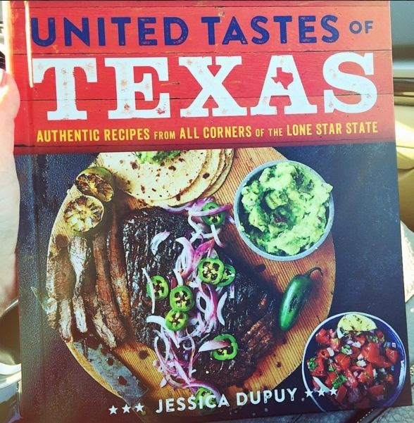 The United Tastes of Texas cookbook